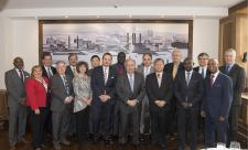 ACABQ conducts a working luncheon with the Secretary-General, Mr. António Guterres, in New York (12 March 2018)